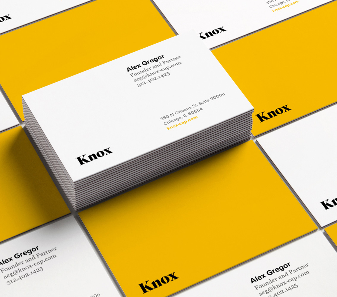 Knox business cards